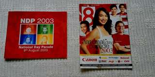 NDP 2003 programme booklet