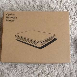 Singtel Optical network router