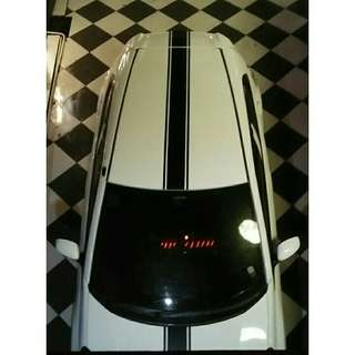 Honda Brio CBU E AT 2013 modif audio interior kulit ekesterior ala mini cooper