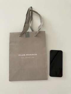 Club Monaco paper bag