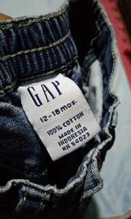 Gap Pants 12-18 months on tag