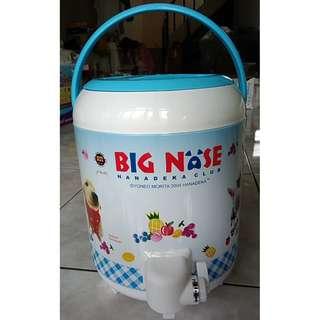 🚚 不鏽鋼手提保溫桶 BIG NOSE HANADEKA CLUB 保溫 保冰 保冷 水桶 保溫壺