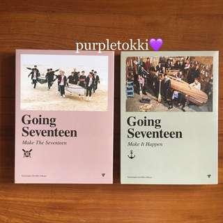 [WTS] Seventeen: Going Seventeen Albums