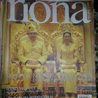 Majalah NONA- Raja Nazrin & Zara