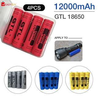 🚚 Lithium Battery Rechargeable Battery High-Capacity 8pcs 18650 Battery Power