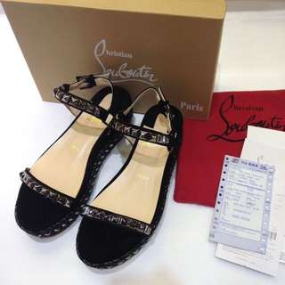 Christian Loboutin Wedges size 38