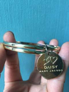 Authentic Marc Jacobs Daisy Coin  Bangle