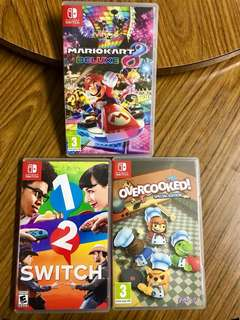 Nintendo Switch games