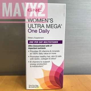 GNC女士綜合維他命 (60粒) GNC Women's Ultra Mega one daily