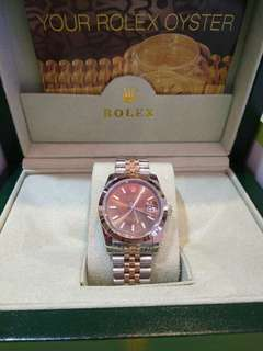 Rolex Oyster Coffee Rosegold