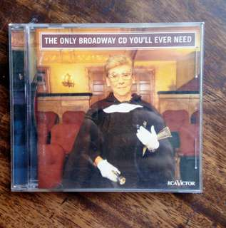 📤THE ONLY BROADWAY CD YOU`LL EVER NEED📤