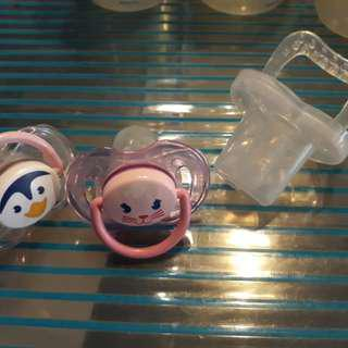 Avent and Babyflo Pacifier