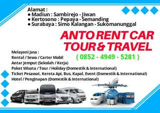 ANTO RENT CAR & TOUR TRAVEL