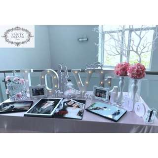 Wedding Table Set Up