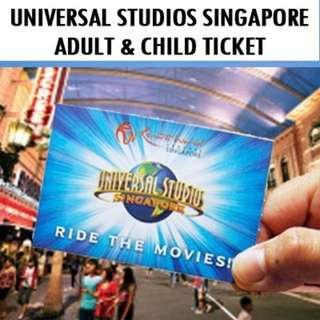 [e-Voucher] Universal Studio Singapore (Child)