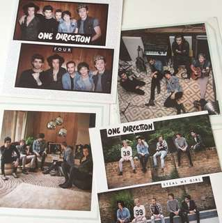 One Direction Postcard