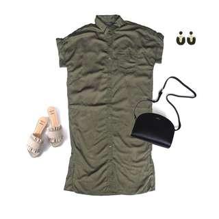 Primark Military Dress