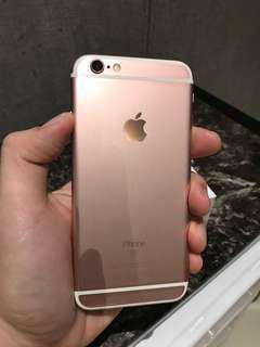 iPhone 6S 64GB Rose Gold (Ori Batt replaced July 2018)