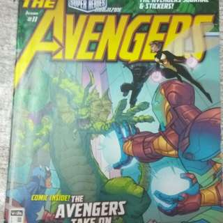Majalah Komik The Avengers 11