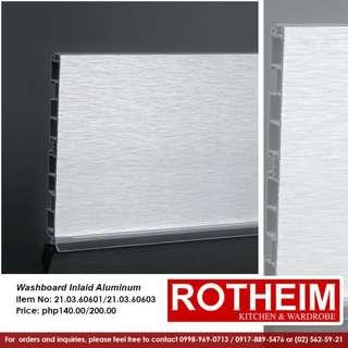 Rotheim Washboard Inlaid Aluminum
