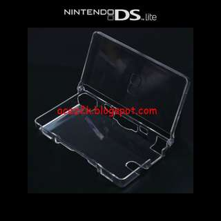 [BN] NDS DS Lite Hard Crystal Case (Brand New)