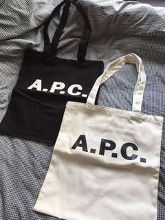 APC tote bag muji Fred Perry paul smith jack wills