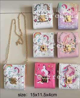 SALE!! Unicorn Fashion Sling Bag  *LIMITED STOCKS ONLY*