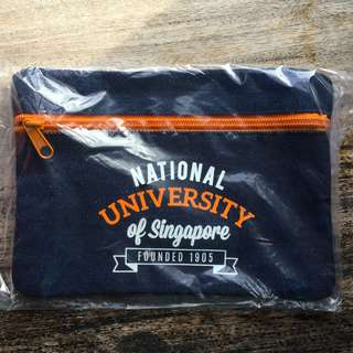 NUS DENIM PENCIL CASE