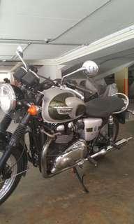 Triumph Borneville 110 Anniversary model