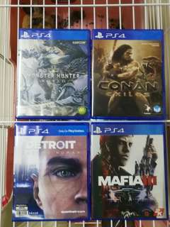 賣ps4 game ,