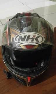 Helm full face NHK