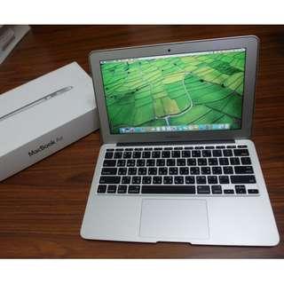 """【出售】Apple MacBook Air 11"""" 筆記型電腦 公司貨 9成新"""