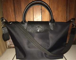 Pre-Loved Authentic Longchamp Neo Le Pliage Small