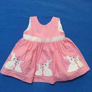 Gymboree Dress Pink Bunny
