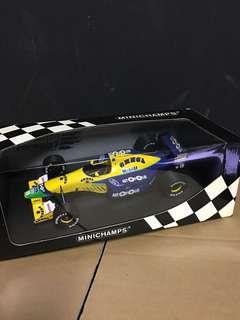 1/18 Benetton Ford B191. M. Schumacher. Minichamps
