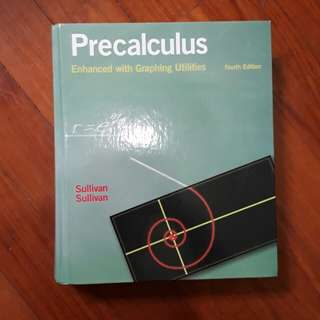 Math Textbook Precalculus (Sullivan)