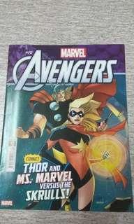 Majalah KomiK The Avengers 25