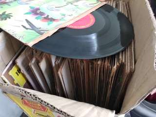 (Borong) LP Records RM299/50pcs