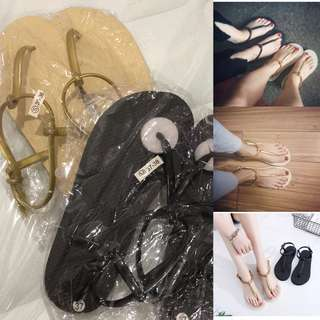 Sandals one for RM12 only
