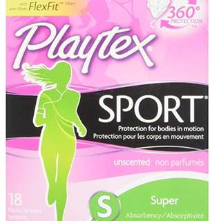 Playtex Sport Tampons - Super - 18 pcs