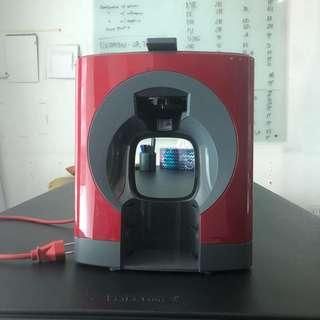 Nescafe Dolce Gusto Oblo Coffee Machine (Red)