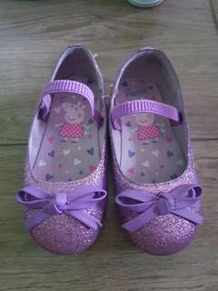 Peppa pig closed shoes
