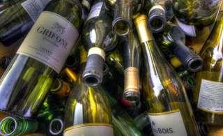 Empty wine bottles for sale