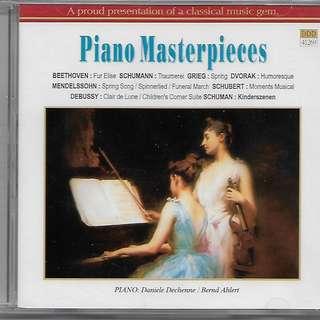 Piano Masterpieces Classical Music CD Daniele Dechenne Bernad Ahlert