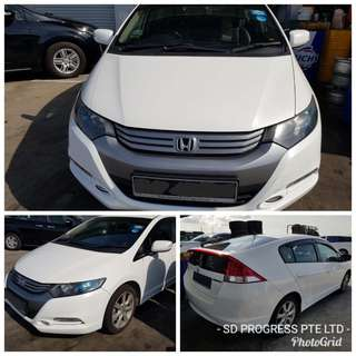 Honda Insight Hybrid from $50 per day