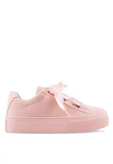 [BN] 💕Something Borrowed lace up ribbon sneakers