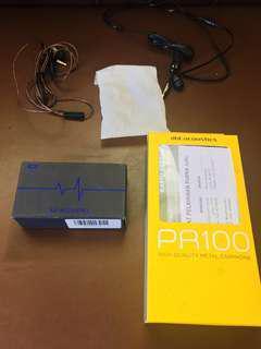 Earphone SuperBass dbE PR100 - Kz ED4