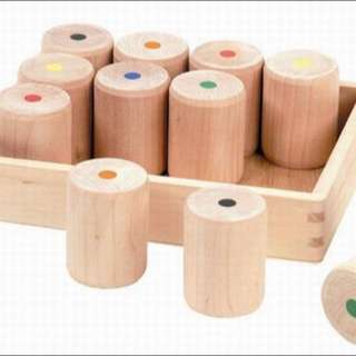 Montessori sensorial weighted cylinder