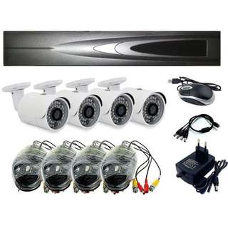 NEW 4CH CCTV Camera AHD Full DIY Kit