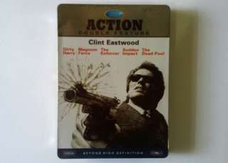 Bluray Disc  ACTION Double Feature - Clint Eastwood